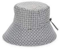 totes Geometric Bow Bucket Hat