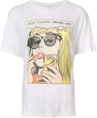 RE/DONE comic strip print T-shirt