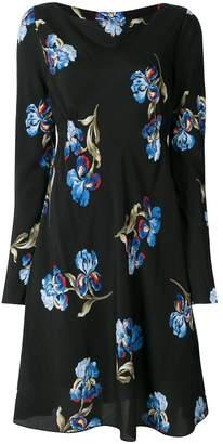 Sportmax floral flared mini dress