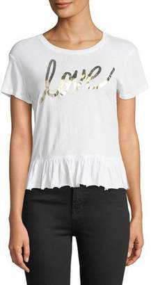 Generation Love Melodie Love Flounce Short-Sleeve Tee