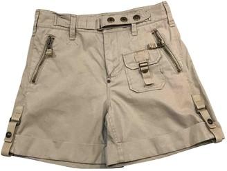Ralph Lauren Beige Cotton Shorts for Women