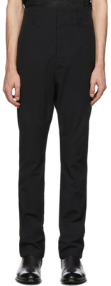 Deepti Black Classic Low Crotch Trousers