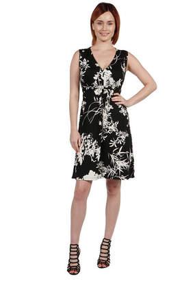 24/7 Comfort Apparel 24Seven Comfort Apparel Ellyn Sleeveless Maxi Dress - Plus