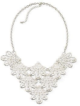 JCPenney Color Craze® Filigree Collar Necklace