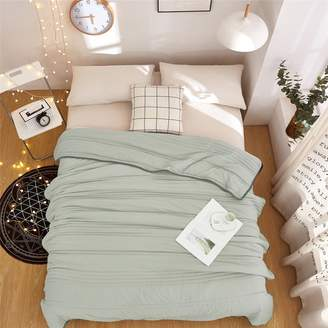weiwei Summer home quilt,Washin does not fade Solid color ultra-thin Soft Twin bed
