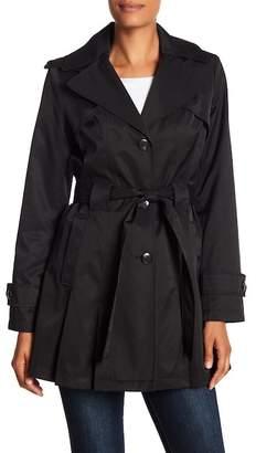 Via Spiga Detachable Hood Trench Coat