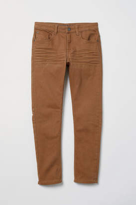 H&M Twill trousers Skinny Fit
