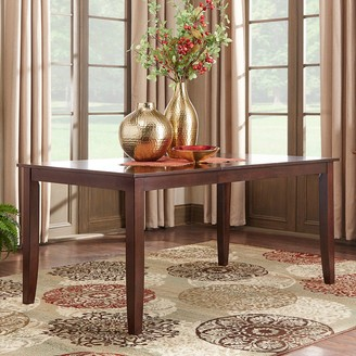 Homevance HomeVance Ogden Extendable Parson Leg Dining Table