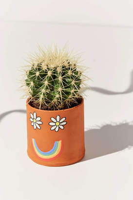 Urban Outfitters Jarmél By Jarmel For Handmade Daisy Smile Planter