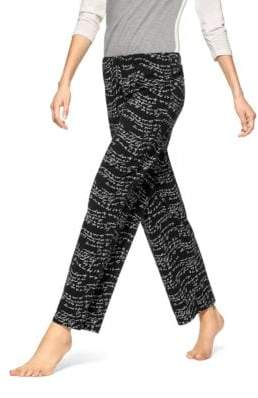 Hue Wavy Script Pajama Pants