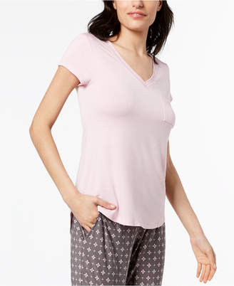Alfani V-Neckline Pajama Top, Created for Macy's