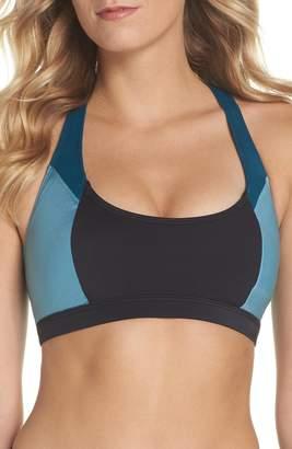 Zella High Dive Asymmetrical Back Bikini Top