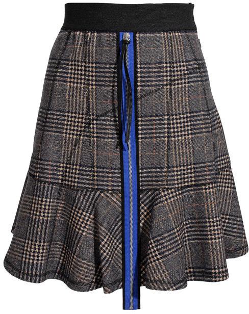 Derek Lam Zip front flare skirt