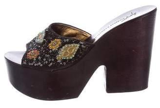 Giuseppe Zanotti Platform Slide Sandals