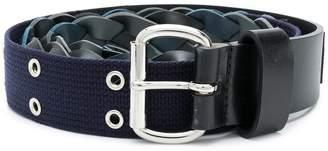 Sacai braided belt