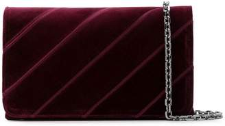 Casadei quilted clutch