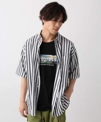 RAGEBLUE (レイジブルー) - ストライプシャツ半袖
