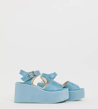 Blink platform wedge sandals