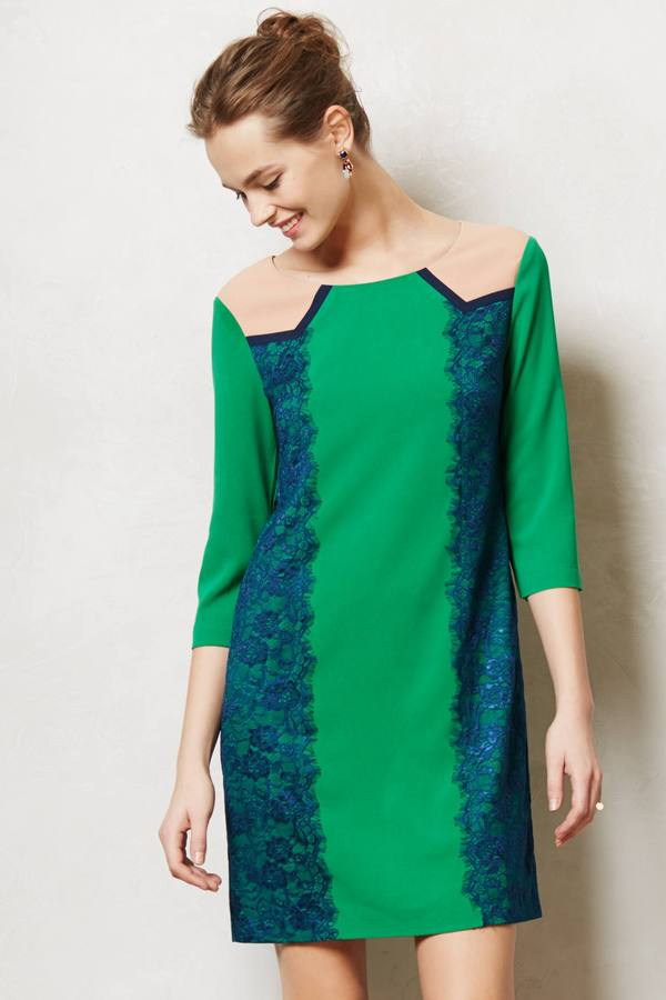 Anthropologie Lucius Lace Shift