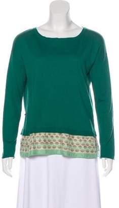 Maliparmi Wool-Blend Lightweight Sweater