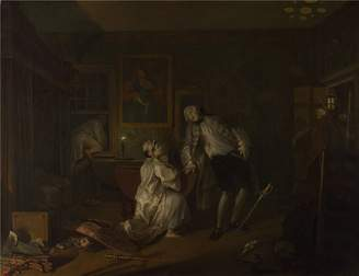 3.1 Phillip Lim Oil Paintings Canvas Prints 'William Hogarth Marriage A la Mode 5 The Bagnio ' oil painting, 24 x inch / 61 x 79 cm ,printed on Perfect effect canvas ,this Reproductions Art Decorative Prints on Canvas is perfectly suitalbe for Bedroom gallery art and Home gallery art and Gifts