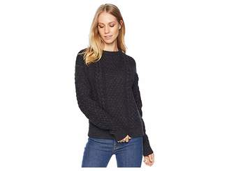 Frye Erin Fisherman Cable Knit Sweater