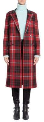 Each X Other Tartan Plaid Coat