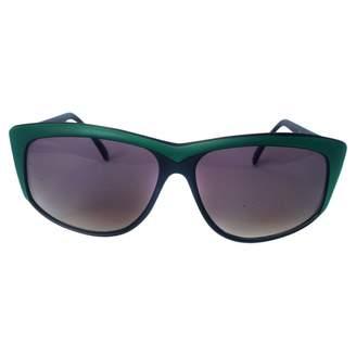 Emilio Pucci Green Plastic Sunglasses