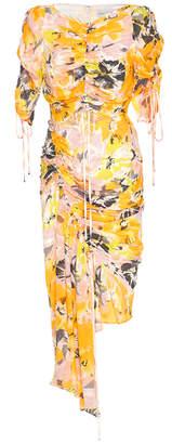 Alice McCall Soiree Gathered Cutout Dress
