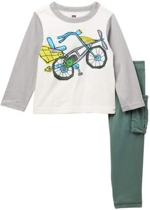Tea Collection Flying Scot Baby Outfit (Baby Boys)