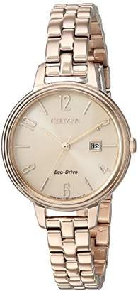 Citizen Women's 'Silhouette' Quartz Stainless Steel Casual Watch