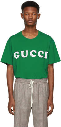 Gucci Green Logo T-Shirt