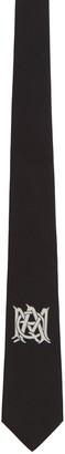 Alexander McQueen Black Insignia Tie $165 thestylecure.com