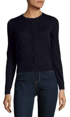 Carven Button-Front Cotton Jacket