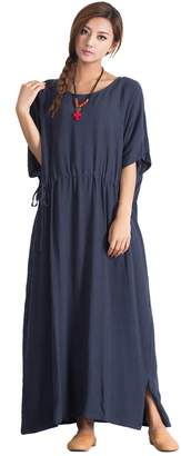 3.1 Phillip Lim OverSize Women's Linen Cotton Dress Large Plus Caftan Clothing