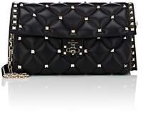 Valentino Women's Candystud Leather Clutch - Black