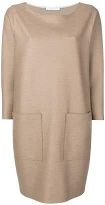 Harris Wharf London long sleeved shift dress