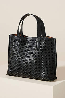 Anthropologie Fiona Perforated Tote Bag