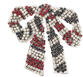 Essentiel Antwerp crystal bow brooch