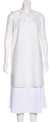Jenni Kayne Embroidered Mini Dress