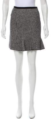 Sonia Rykiel Sonia by Houndstooth Mini Skirt