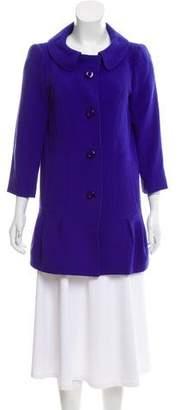 Tibi Structured Virgin Wool Coat