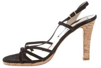 Michael Kors Multistrap Suede Sandals