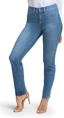 NYDJ CURVES 360 BY Slim Straight Leg Jeans (Regular & Plus)