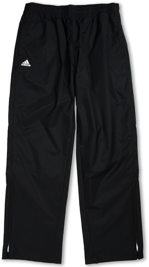 adidas Kids - Climaproof Rain Provisional Pant (Big Kids) (Black/White) - Apparel