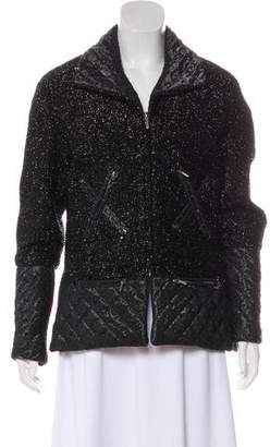 Chanel Quilted Metallic Jacket