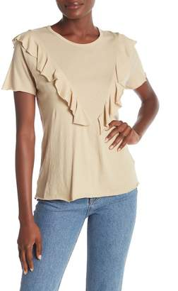 Wildfox Couture Lucienne Ruffle Tee