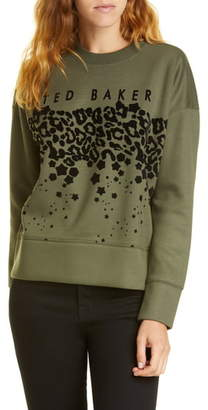 Ted Baker Charily Graphic Sweatshirt
