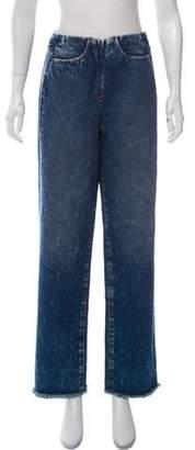 MM6 MAISON MARGIELA High-Rise Boyfriend Jeans