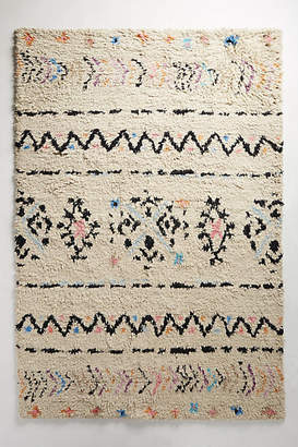 Anthropologie Knotted Riad Rug